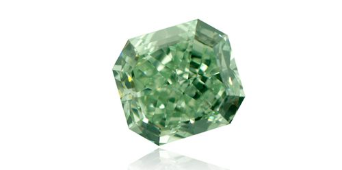 Green Color in Diamonds: The Natural 'Treatment'